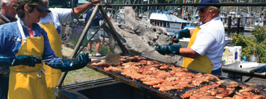 Don't Miss the Next Annual World's Largest Salmon BBQ