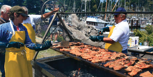 Don't Miss the World's Largest Salmon BBQ